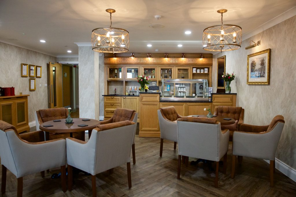Cambridge Manor care home in Cambridge cafe _ TLC Care