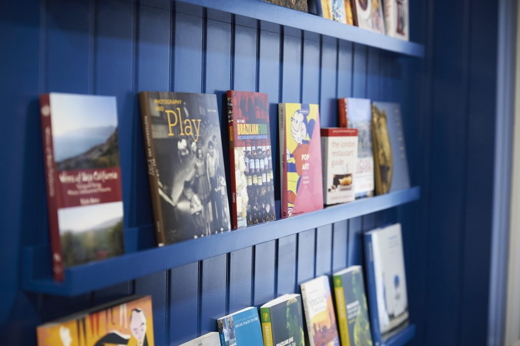Candlewood House Care home in North London book shop by TLC Care