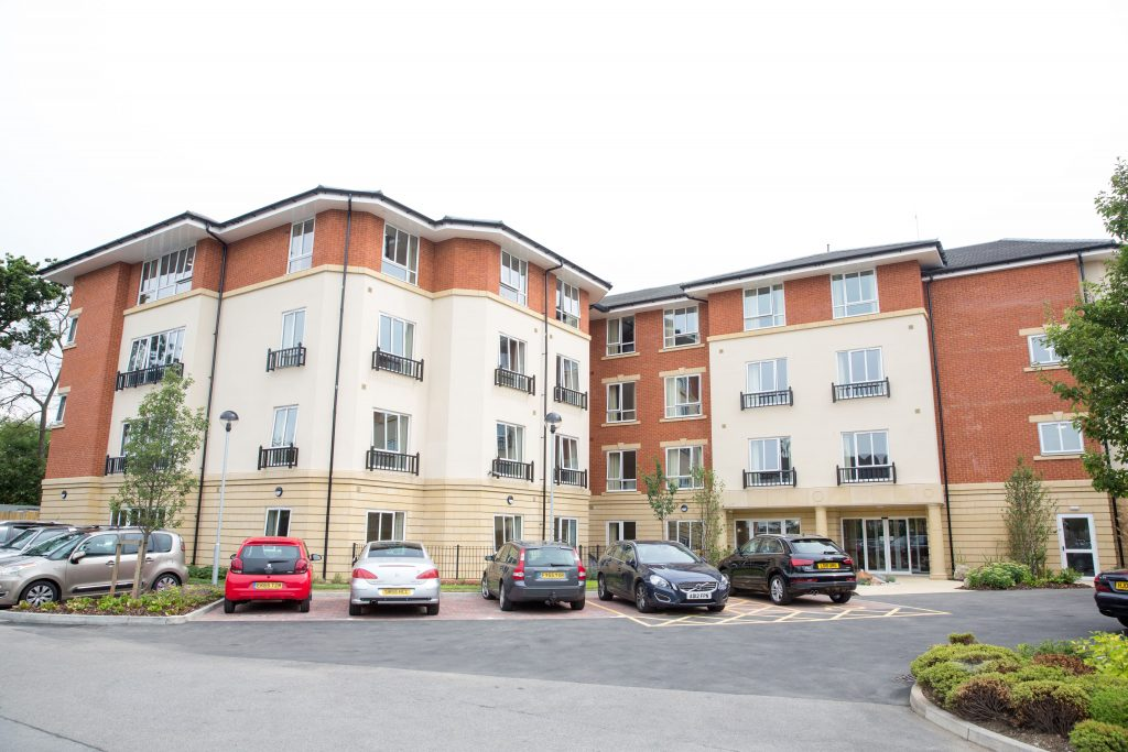 Cuffley Manor Care home in Potters bar hertfordshire external building by TLC Care